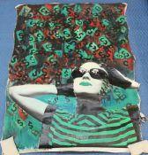 Chicano & Contemporary Mexican American Art Collection - The Mexican Museum Mexican American, American Art, Mexican Museum, Latino Art, Mixed Media Canvas, Female Portrait, Chicano, Artist At Work, Contemporary