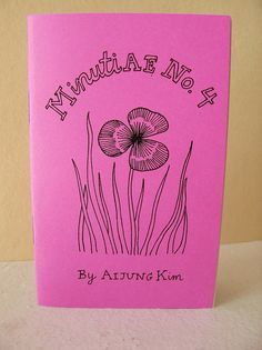 """Zine """"Minutiae No. Asian American, Nature Journal, Zine, Identity, At Least, This Book, Black And White, Spring, Cover"""