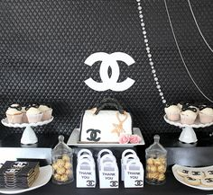 Coco Chanel party #cocochanel #party