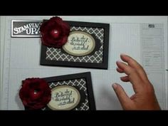 ▶ Frame card with Dawn - YouTube Look at my flower tutorial for flower.