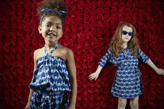 Bolder china blues as well for How to Kiss a Frog kidswear spring 2016