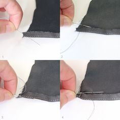 Have you ever seen or done a rolled hem? This type of hem finish is usually used on lightweight and delicate fabrics, and produces a very, very small turned hem. And it just so happens that three of the patterns from the new Breakwater collection call for rolled hems. If you plan on making the …