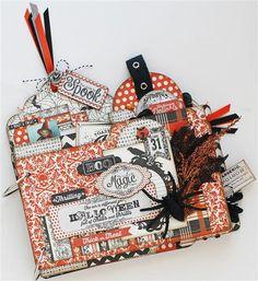 Halloween Magic Mini album  CUSTOM ORDER by CraftsbySharri on Etsy, $65.99