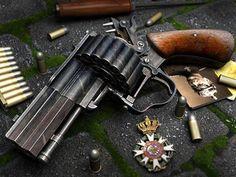 pistol Gatling gun