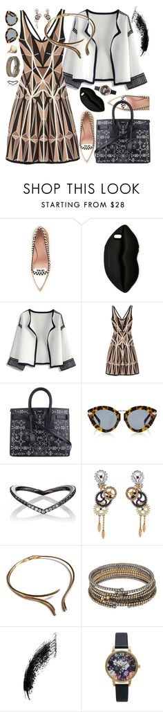 """Going to Fall"" by petalp ❤ liked on Polyvore featuring Kate Spade, STELLA McCARTNEY, Chicwish, Hervé Léger, Yves Saint Laurent, Karen Walker, Eva Fehren, Paul Morelli, ABS by Allen Schwartz and Topshop"