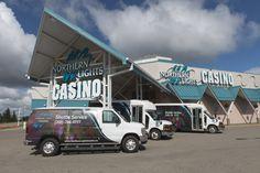 Northern Lights Casino - Shuttle bus Western Canada, Northern Lights, Van, Entertaining, Vans, Aurora Borealis, Nordic Lights, Funny, Entertainment