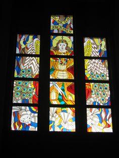 #stainedglass #witraż #kosciół #sakralny #pracownia witraży