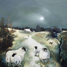 Blackies in the Evening Light by Lesley McLaren   Edinburgh Arts