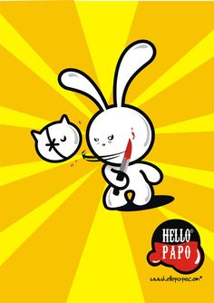 Poster Hello & Stuffed