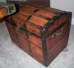 "Something my parents did for me that I want to do...get a hope chest for your baby and put in things like, baby pictures, the ""congratulations"" cards and things for their future. So they can use this when they get older. :) Already have the chest :)"