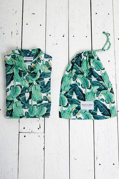 Masini & Chern - Banana Leaf Pyjamas.