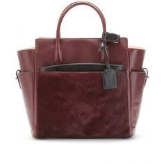 Reed Krakoff Atlantique Leather Tote ($1,990) found on Polyvore