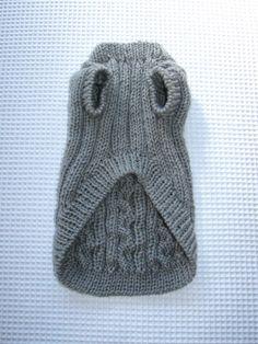 犬セーター なわ編みのセーター (男の子用)2