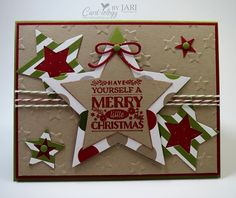 Christmas Stars by Jari - Cards and Paper Crafts at Splitcoaststampers