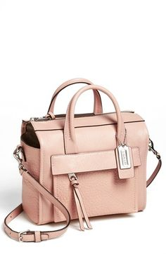 COACH 'Bleecker - Mini' Leather Crossbody Bag available at #Nordstrom
