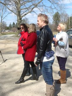 How many people does it take? It was freezing!!  #Polka Dots #Spring Collection 2013 #Photo shoot www.shopatpolkadots.com
