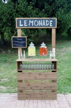 Лимонадный бар