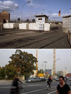 Checkpoint Heinrich-Heine-Str. 1971 & 2014.