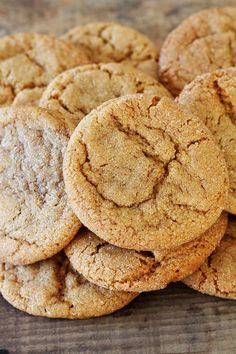 Soft Ginger Snaps just say fall, with the nice aroma of cinnamon and cloves. They are a great change for something a little different.