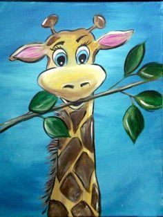 #1379 Giraffe - Uptown Art Uncorked - Sussex, Wi