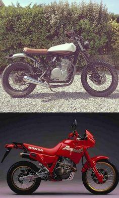 Honda NX 650 Dominator - Street Tracker / Scrambler - Page 5 - Motorrad Rat Bikes, Honda Bikes, Bmw Motorcycles, Vintage Motorcycles, Custom Motorcycles, Custom Bikes, Cool Bikes, Honda Cb, Honda Dominator