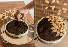 tarta de chocolate facil paso a paso