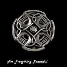 Coychurch Wheel Celtic Cross Sterling Silver Celtic Cross