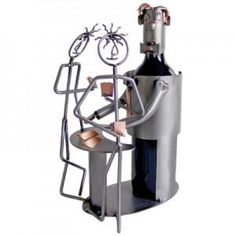 Look At This One Of A Kind Wine Bottle Holder