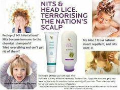 It is that time of year again.  My children are going back to school and will no doubt one of them will get the dreaded Nits and head lice.  These products have worked every time in getting rid of them.  Please visit my shop at www.forever-strong.flp.com
