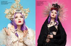 """ MADONNA "" editorial styled by Leonid Gurevich / Photography: Jason Setiawan / Hair: Kristin Jackson / Makeup: Jayme Jennings usi..."