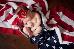 4th of July baby pic.