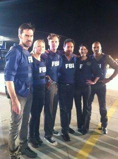 Criminal Minds team..... BEST SHOW EVER!!!