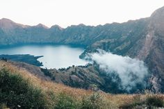 View from our first campsite. – Mount Rinjani Hike – 2015