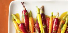Coriander-Glazed Carrots by Food Network Kitchen Glazed Carrots, Carrot Recipes, Cheese Bread, Coriander Seeds, Baby Carrots, Fresh Lime Juice, Food Network Recipes, Vegetarian, Nutrition