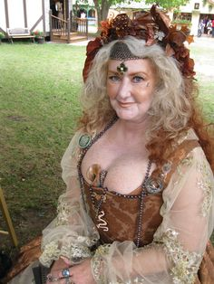 Scarborough Renaissance Festival - This is me in 30 years. Renaissance Costume, Renaissance Clothing, Renaissance Fair, Historical Clothing, Renissance Festival, Scarborough Renaissance Festival, Pirate Garb, Waist Length Hair, Tribal Costume