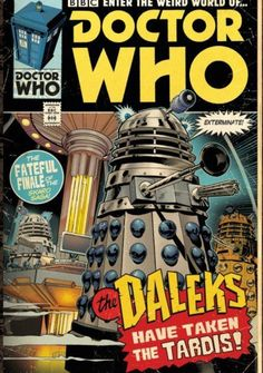 4th Doctor, Second Doctor, Good Doctor, Doctor Who Comics, Doctor Who Art, Dalek, Weird World, Dr Who, A Comics