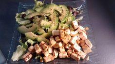 Tofu mariné à la citronnelle, gingembre et sésame