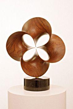 Minimal surfaces rendered in wood. Modern Sculpture, Abstract Sculpture, Wood Sculpture, Metal Sculptures, Bronze Sculpture, Got Wood, Wood Creations, Wooden Art, Art Furniture