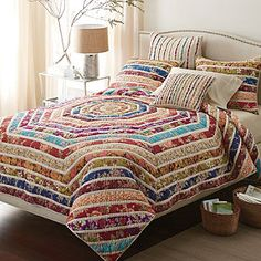 Brenna Quilt and Sham.  The Company Store.  Love, but may be too bright?