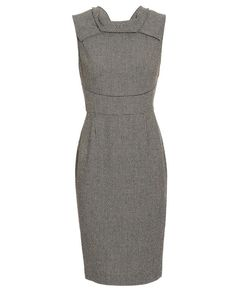 'Sherlock' Virgin Wool-blend Dress by ROLAND MOURET at Browns Fashion for £950.00£570.00