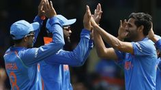 India crush shambolic South Africa by eight wickets at The Oval to reach the semi-finals of the Champions Trophy.