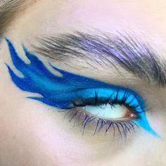 Creative Eye Makeup Makeup Tools Creative eye makeup _ kreatives augen make-up _ m Makeup Eye Looks, Eye Makeup Art, Colorful Eye Makeup, Crazy Makeup, Cute Makeup, Pretty Makeup, Eyeshadow Makeup, Beauty Makeup, Fairy Makeup