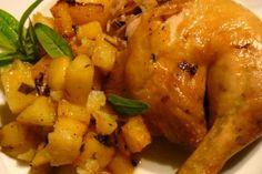 Kurczak pieczony po grecku z ziemniakami. - Ewa - Polka na greckiej ziemi