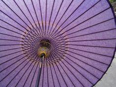 Bangasa, traditional Japanese rain umbrella