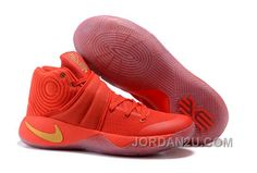 """hot sale online 1c90d 774ba Now Buy Nike Kyrie 2 """"Gold Medal"""" University Red Metallic Gold For Sale  312630 Save Up From Outlet Store at Pumarihanna."""