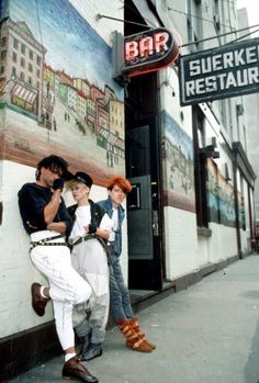 From the decadence of the Paradise Garage club downtown, to the rise of hip-hop in the Bronx.