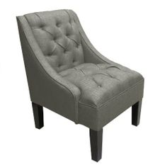Skyline Furniture Tufted Swoop Arm Chair in Linen Gray by Skyline Furniture, http://www.amazon.com/dp/B005VM6WN6/ref=cm_sw_r_pi_dp_76xErb1HC2QQ7