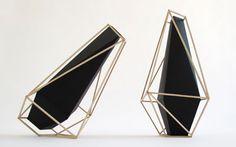Martin Azua's new beautifully geometric Union Suiza vases are absolutely stunning