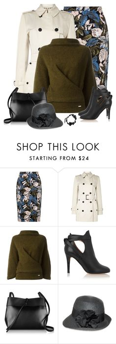 """1/27/16"" by tararanee ❤ liked on Polyvore featuring Aquascutum, Dsquared2, Jimmy Choo, Kara, Nine West, Valentino, women's clothing, women, female and woman"