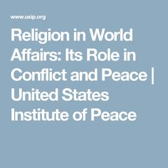 role and influence of religion on conflicts Conflict already exists education may have a role, for example, by providing protective points of stability and daily routine for children it is possible to keep schools functioningif , by helping understand underlying causes of conflict and by strengthening messages within.